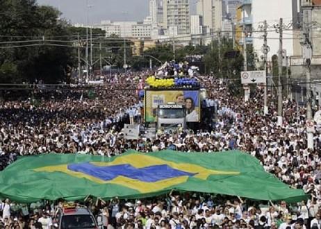 Incroyable mais vrai ! Trois millions de chrétiens dans la Marche pour Jésus au Brésil 1561502669-Capture-marche-pour-jesus
